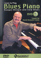 Learn To Play Blues Piano Boogie Woogie Lesson DVD 3