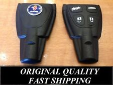 Saab 9-3 Brand New ORIGINAL QUALITY WITH SAAB EMBLEM Remote Key Fob Shell Case
