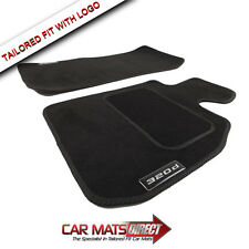 BMW 3 Series Saloon E90 320d 05-12 Tailored Black Velour Car Floor Mats + Logos