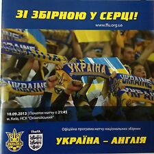 UKRAINE v England (World Cup Qualifier) 2013