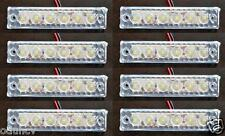 8 pcs 24V SMD LED WHITE FRONT SIDE MARKER LIGHTS FOR DAF MAN VOLVO IVECO SCANIA