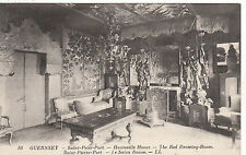 Red Drawing Room, Hauteville House, ST. PETER PORT, Guernsey, Channel Islands LL