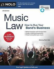 Music Law : How to Run Your Band's Business by Richard Stim (2015, Paperback)