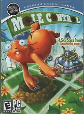 MOLE CONTROL PC Game Puzzle NEW