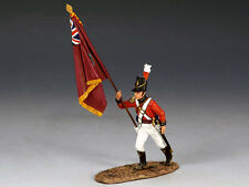 King & Country - Napoleonic British Coldstream Guards Marching Flagbearer NA194