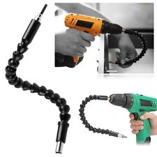 Black 290mm Flexible Shaft Bits Extention Screwdriver Drill Bit Connecting Link
