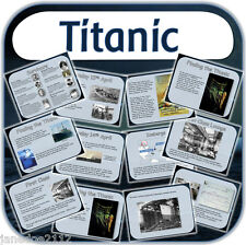 KS2 TOPIC THE TITANIC Worksheets & Interactive primary teaching resources on CD