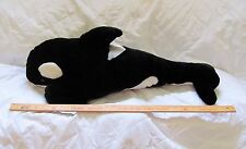 SEA WORLD Large 36'' Shamu Plush Orca Killer Whale Stuffed