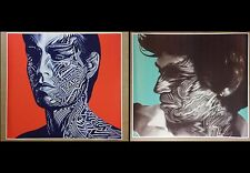 """Rolling Stones 26"""" x 24"""" Tattoo You 2 Pack Posters Album Mick and Keith CD"""