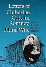 Letters of Catharine Cottam Romney, Plural Wife-ExLibrary
