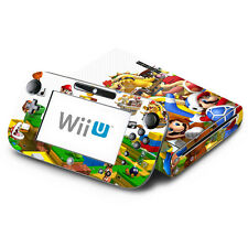 Skin Decal Cover for Nintendo Wii U Console & GamePad - Super Mario 3D Land