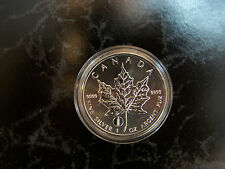 2012 silver maple leaf- TOWER OF PISA  privy mark- 1 OZ .9999 fine silver
