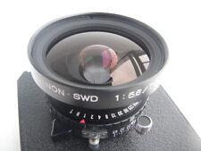 Fuji (Fujinon) SWD 75mm /f 5.6 lens, Copal shutter, a lensboard