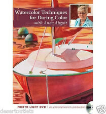 NEW! Watercolor Techniques for Daring Color With Anne Abgott [DVD]