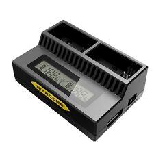 Nitecore ugp3 Lcd inteligente Cargador Inteligente Para Gopro hero3/3 + batería Reino Unido Stock