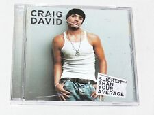 Craig David, Slicker Than Your Average, New CD Unsealed