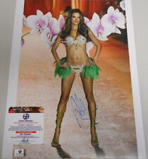 Alessandra Ambrosio * GA CERT * ACTRESS * VICTORIA MODEL * 11 X 14 *  PHOTO