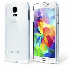 Thin Crystal Clear Hard Plastic Snap On Case for Samsung Galaxy S5 i9600