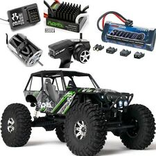 Axial AX90018 Wraith 1/10 4WD Rock Racer RTR w/ Radio + FREE Battery