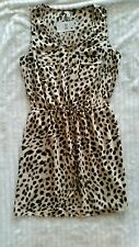GUESS MINI SHIRT DRESS ANIMAL CHEETAH PRINT NWT SIZE MEDIUM