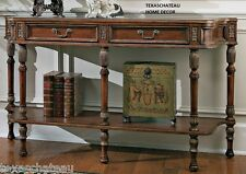 """60"""" ~ WOOD ACCENT TABLE ~ ENTRY SOFA BUFFET HUNTBOARD ANTIQUE ENGLISH STYLE NEW"""