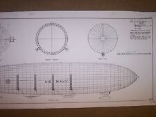 AIRSHIP AKRON model plans