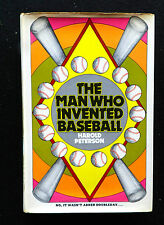 The Man Who Invented Baseball  Harold Peterson (1969, Hardcover) Book