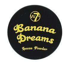 W7 Banana Dreams Loose Face Powder Yellow
