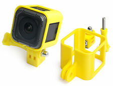 Ultra Light Frame + Tripod Mount f. GoPro HERO 4 Session Rahmen Stativ Yellow