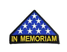 In Memoriam United States Veterans Embroidered Military Patch Iron Sew PWPM5025