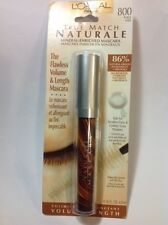 L'OREAL TRUE MATCH NATURALE MINERAL ENRICHED MASCARA BLACK #800 NEW.
