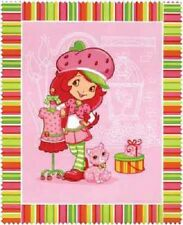 STRAWBERRY SHORTCAKE MODERN GIRL LARGE FABRIC PANEL