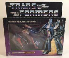 1984 VINTAGE G1 TRANSFORMERS DECEPTICON WARRIOR THUNDERCRACKER COMPLETE NICE BOX