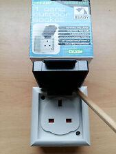 IP54 Splash Proof Waterproof Socket 1 Gang Socket Quality Great Value!