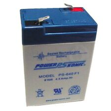 LCR064PUL, LCR064R2CH, sealed lead acid Battery POWERSONIC
