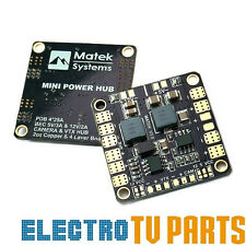 5V & 12V Matek Systems Mini Power Distribution Boad PDB with Dual BEC FPV Racing