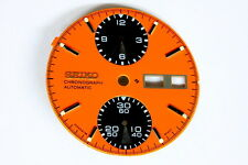 Panda dial for Seiko 6138-8020 automatic chronograph (orange)