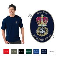 Chief Petty Officer cap badge - Royal Navy - CPO - T Shirt