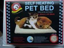 AMAZING MAGIC SELFHEATING THERMAL PET BED CAT DOG PUPPY WARM WASHABLE FLEECE NEW