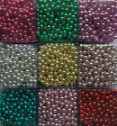 CHRISTMAS XMAS WEDDING BEAD GARLAND GOLD RED TABLE TREE DECORATION 1 or 8 METRES