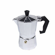 1 Cup Stovetop Expresso Coffee Latte Maker Percolator MOKA POT +EXTRA GASKET