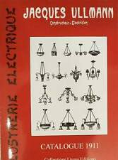 CATALOGUE/KATALOOG : Jacques Ullmann 1911 ( lamp lampadaire luchter chandelier