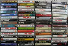 PICK 4 Cassettes For 10.99! Rock Country Blues Comedy R&B Rap Pop Jazz Classical