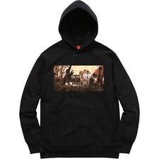 "Supreme x Black Sabbath Hooded Sweatshirt ""Black"" SS16 Size Medium / M RARE"