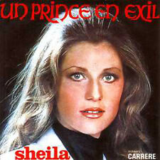 CD single SHEILA Un prince en exil 2-track card sleeve