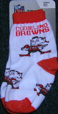 Cleveland  Browns Brownie Elf Infant Socks. EXCLUSIVE ITEM!