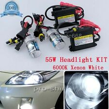 Car 55W 9005 H10 9145 High Beam 6k HID Xenon Replacement Bulbs KIT Set Light QL