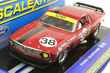 SCALEXTRIC C3107 MUSTANG TRANS AM BOSS 302 NEW IN DISPLAY CASE 1/32 SLOT CAR