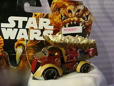 2016 STAR WARS Character Cars RANCOR✰brown;monstrous machine✰Loose Hot Wheels