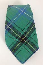 RRL Double RL Ralph Lauren Neck Tie New Wool Green Blue Plaid Mens
